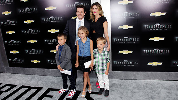 Mark Wahlberg Shares Rare Photo With 3 Of His Kids in The Pool — See Pic.jpg