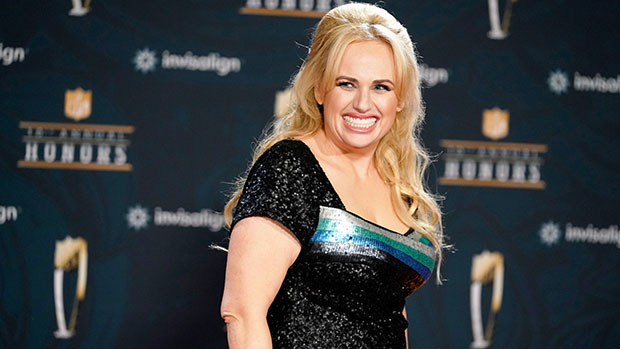 Rebel Wilson Rocks Sparkly Green Top To Channel Britney Spears' 'Crazy' Music Video On Movie Set — Watch