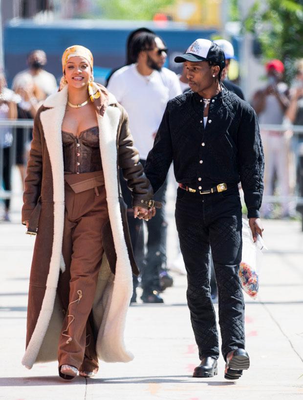 Rihanna, A $ AP Stone