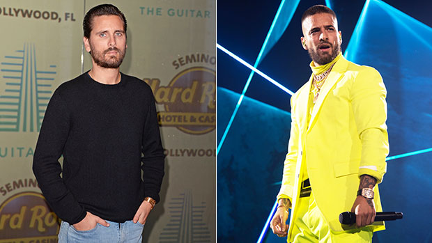Scott Disick & Maluma Are 'Beefing' On Twitter & Fans Are Very Confused: 'You're A Joke' thumbnail
