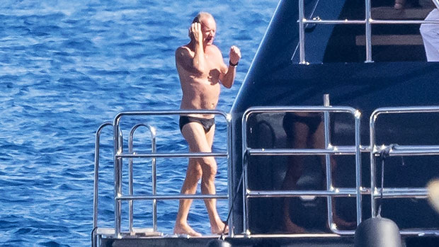Sting, 69, Reveals His Toned Abs In Tiny Speedo On Vacation With Wife Trudie Styler — Photo.jpg