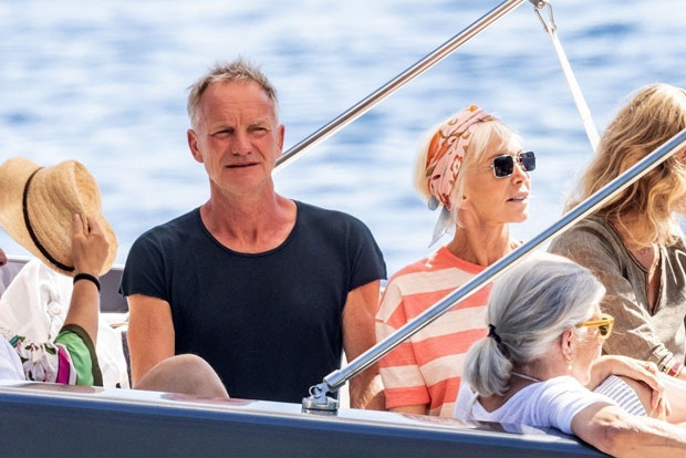 sting and wife Trudie Styler