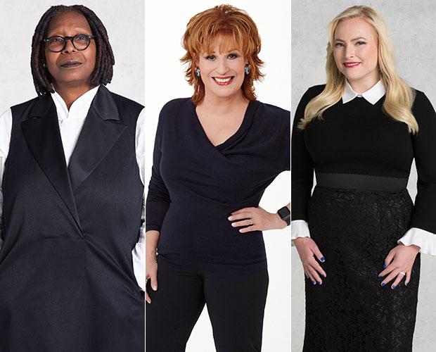 Whoopi Goldberg, Joy Behar, Meghan McCain