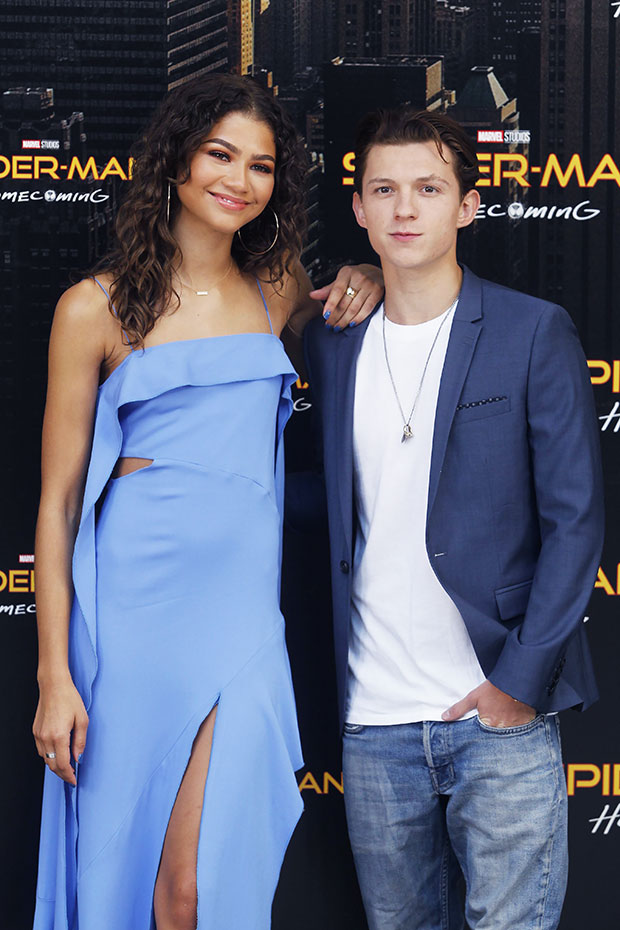 Zendaya and Tom Holland