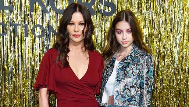 Catherine Zeta-Jones Reminisces About Daughter's, 18, Younger Years As She Heads To College.jpg