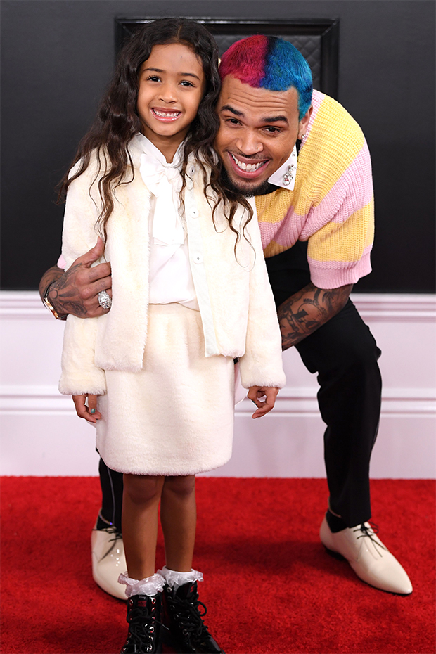Chris Brown Had A Blast Reuniting With His Children Aeko, 1, And Royalty, 6, In Greece - Light Home News