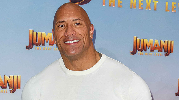Dwayne Johnson Shows Off Bulging Biceps After Revealing Why He Doesn't Have 'Perfect Abs'