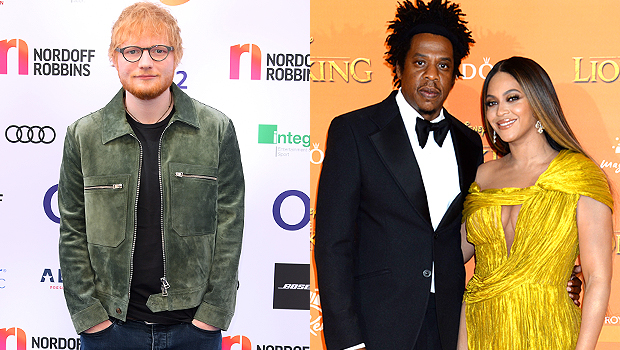 Ed Sheeran, Jay-Z & Beyonce