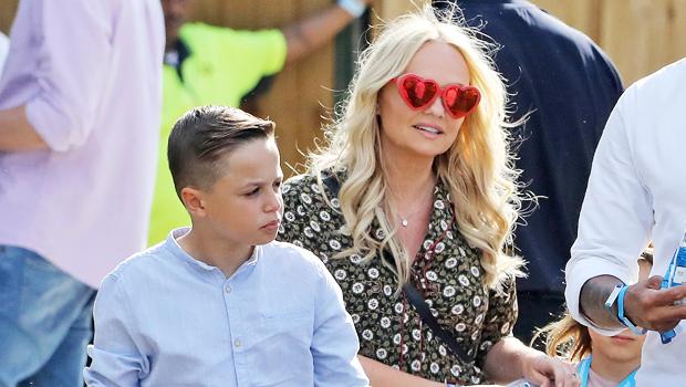Emma Bunton & son Beau