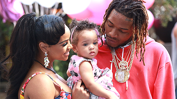 Fetty Wap Kisses Photo Of Daughter Lauren Maxwell, 4, After Her Death — Touching Video