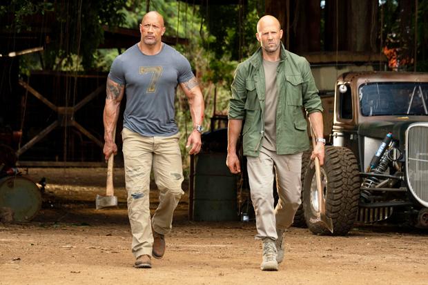 Dwayne Johnson & Jason Statham