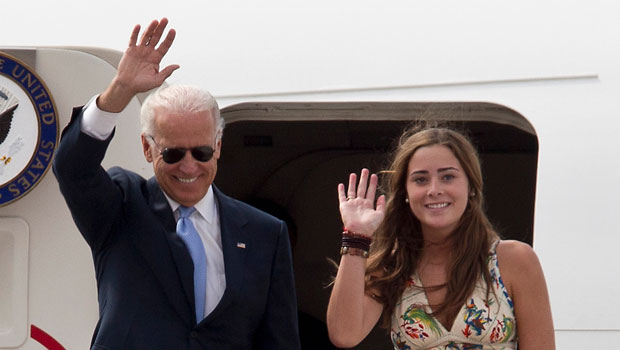 Joe Biden's Granddaughter Naomi, 27, Borrows Sis Maisy's Inauguration Dress For Date With BF
