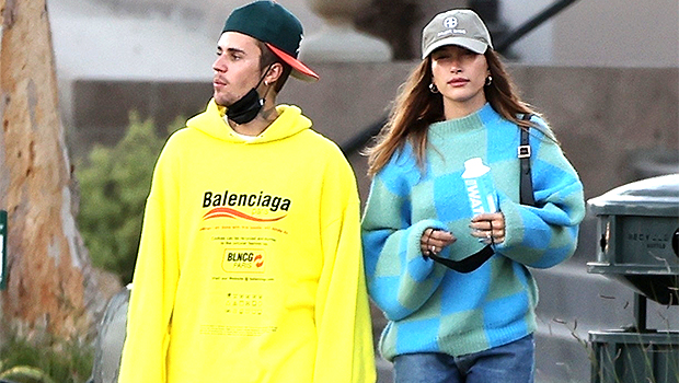 Justin Bieber Wears Oversized Hoodie For Romantic Dinner Date With Hailey Baldwin — Photo