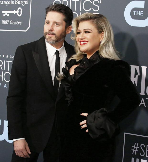 Kelly Clarkson & Brandon Blackstock