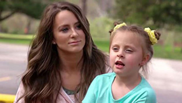 Leah Messer & daughter Adalynn
