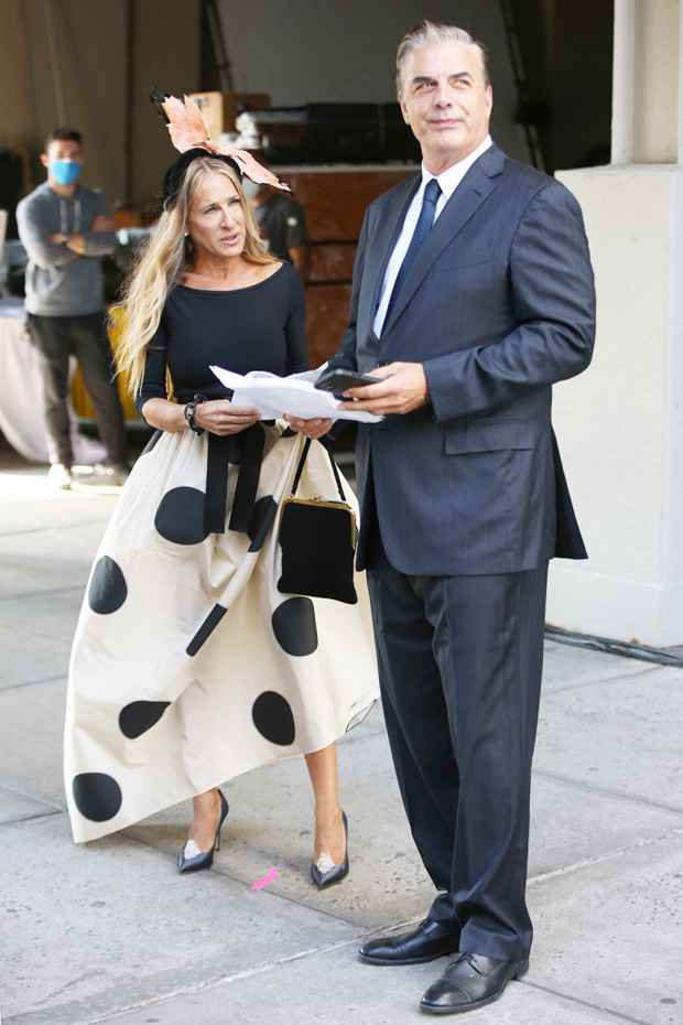 sarah Jessica Parker and Chris Noth