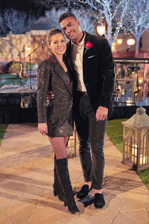 Katie Thurston and Justin Glaze