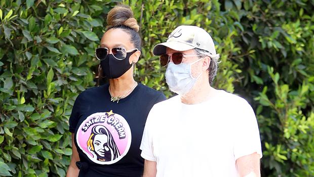 Tyra Banks & boyfriend
