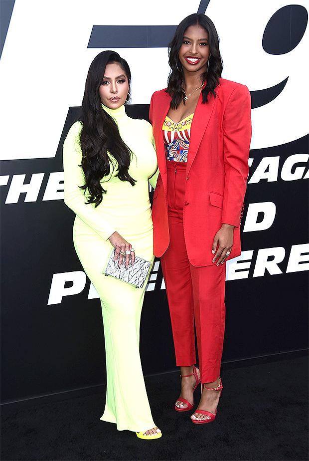 Vanessa & Natalia Bryant