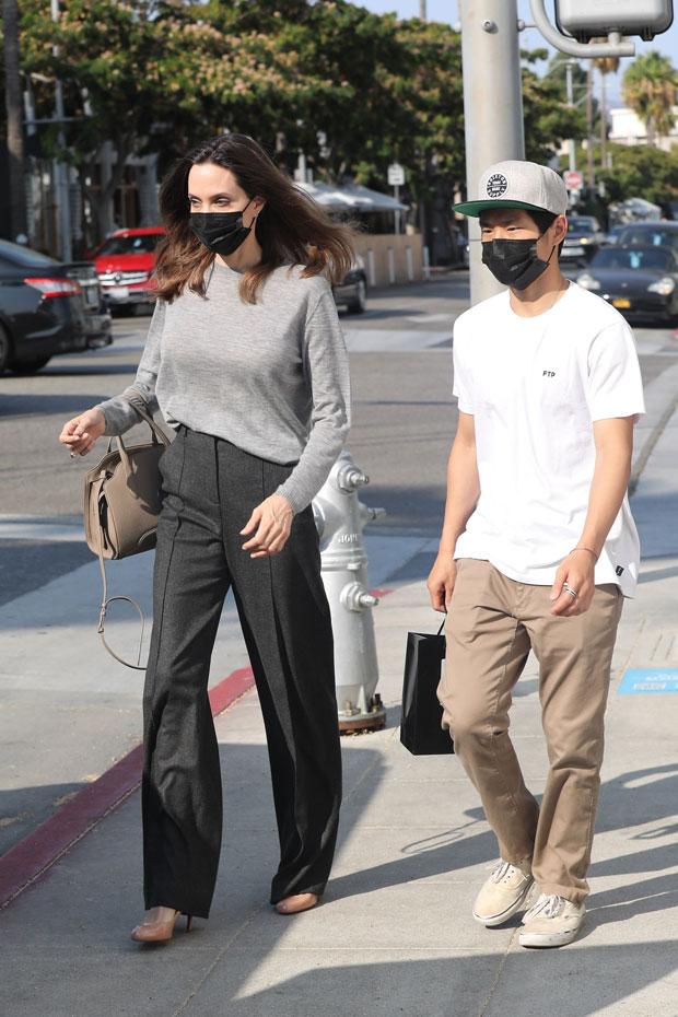 Angelina Jolie & Pax