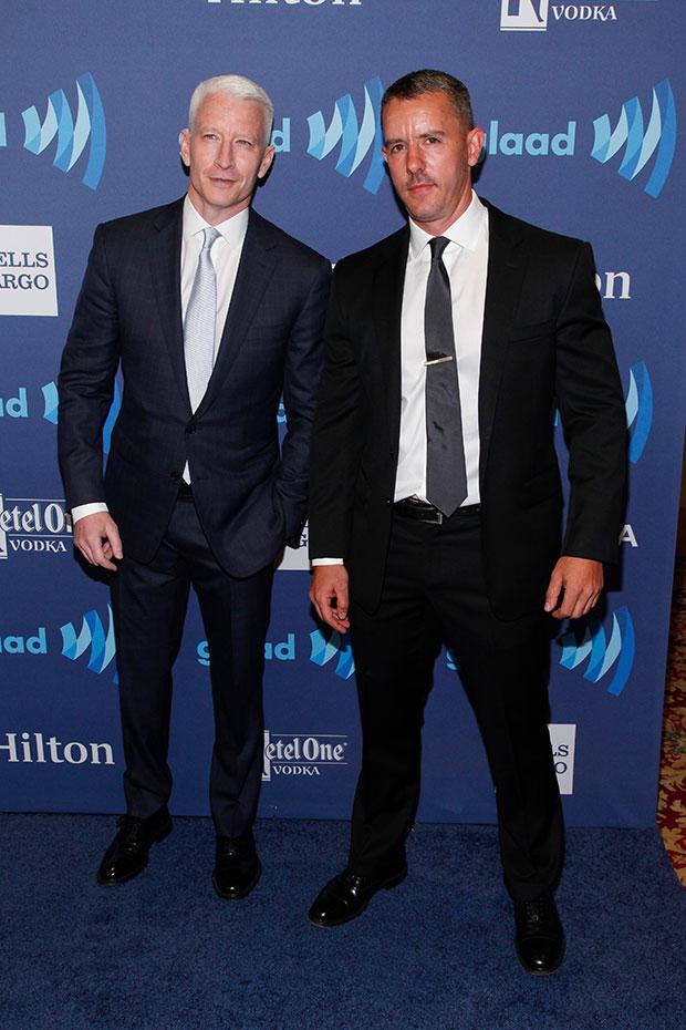Benjamin Maisani & Anderson Cooper