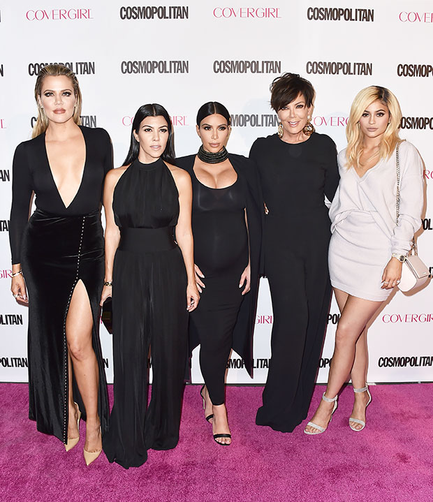 khloe kardashian, kourtney kardashian, kim kardashian, kris jenner, kylie jenner