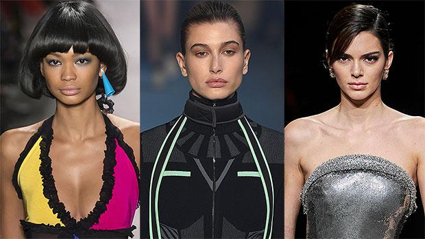 Chanel Iman, Hailey Baldwin, Kendall Jenner