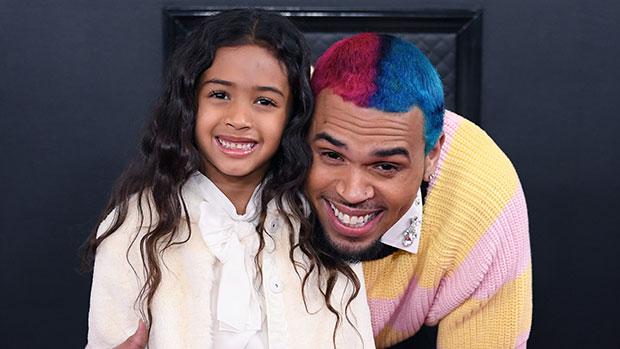 Chris Brown & daughter Royalty