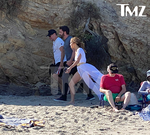 Matt Damon, Ben Affleck, and Jennifer Lopez