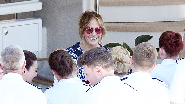 Jennifer Lopez Smiles Saying Goodbye To Yacht Crew As Getaway With Ben Affleck Appears To Wrap Up
