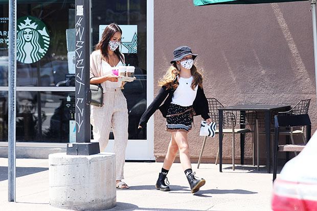 Jessica Alba & daughter Haven