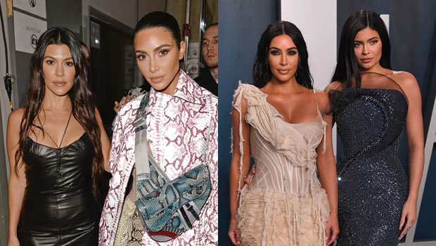Kim Kardashian 'Looks Up To' Sisters Kylie & Kourtney For Co-Parenting Advice As She 'Mends Gaps' With Kanye