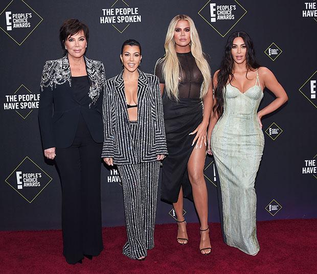Kim Kardashian, Kourtney Kardashian, Khloe Kardashian, Kris Jenner
