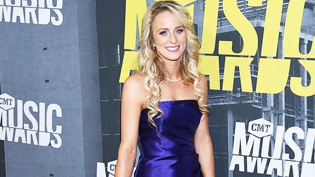 Leah Messer Looks Incredible In Black Leather Dress & Gives Off 'Wedding Vibes' — Watch