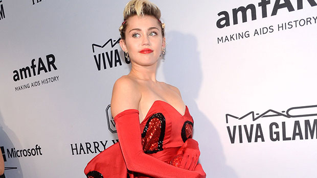 Miley Cyrus Slays Sexy Red Bodysuit For Private Hamptons Performance — Watch