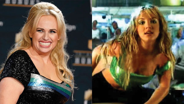 Rebel Wilson Recreates Britney Spears' 'Crazy' Video As She Shows Her Support: 'Love You' — Photo