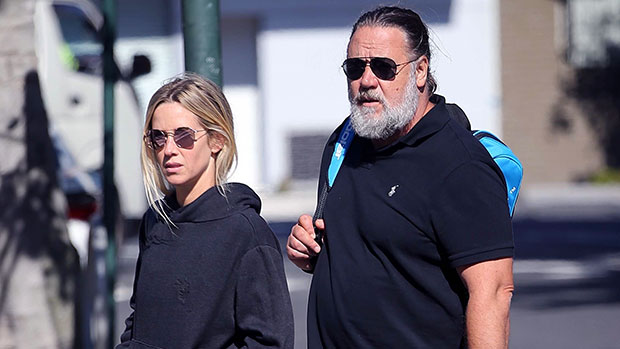 Russell Crowe & Britney Theriot