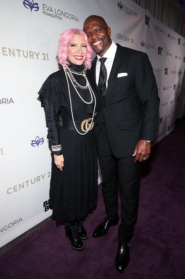 Terry Crews & wife Rebecca