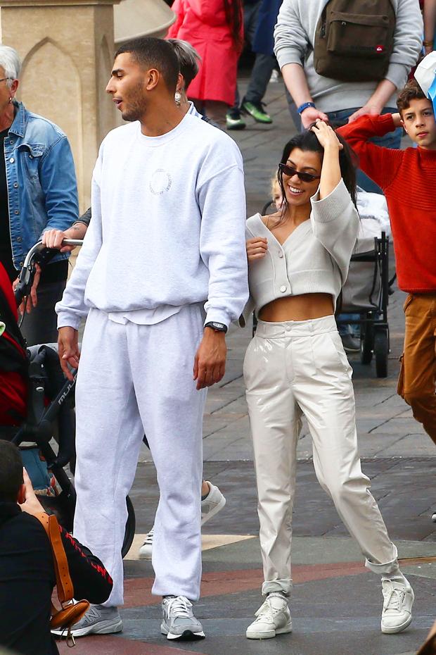 Younes Bendjima & Kourtney Kardashian