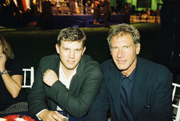 Harrison Ford & son Ben Ford