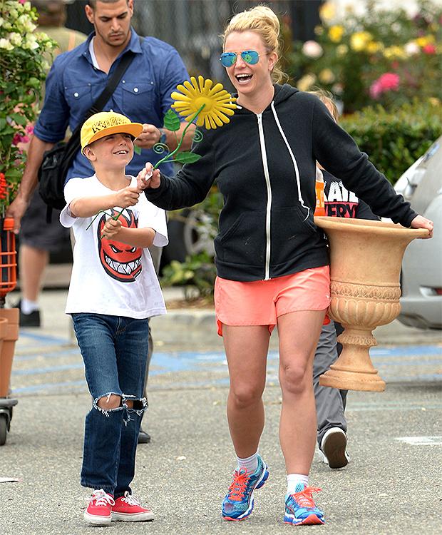 Britney Spears & son Jayden