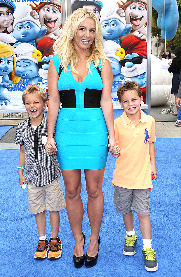 Britney Spears & her sons