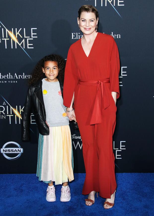 Ellen Pompeo & daughter Stella