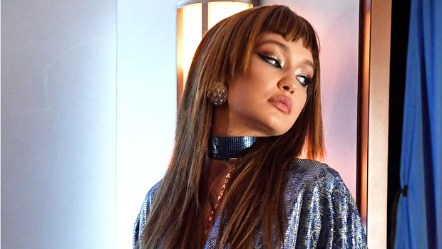 Gigi Hadid Rocks Plunging Sequin Mini Dress For Savage X Fenty Fashion Show 1 Year After Giving Birth.jpg