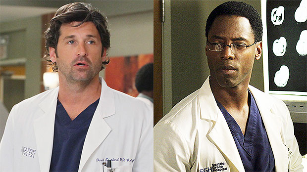 'Grey's Anatomy' Book Details Patrick Dempsey & Isaiah Washington's 'Physical Fight' On Set