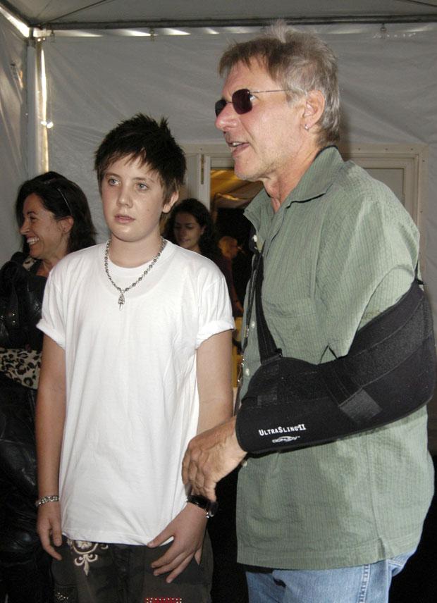 Harrison Ford & son Malcom Ford
