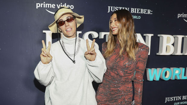 Justin Bieber & Hailey Baldwin Make Out On Red Carpet At 'Our World' Screening — Photos
