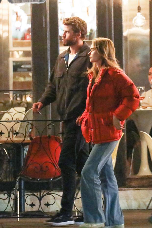 Liam Hemsworth & Gabby Brooks
