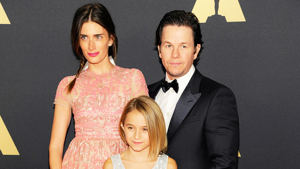 Mark Wahlberg with his wife Rhea and daughter Ella