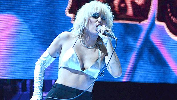 Miley Cyrus Rocks Out In Sexy Silver Crop Top For Atlanta Concert — Videos.jpg